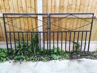 Black Steel Gates