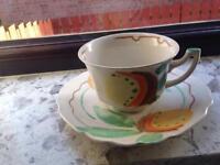 Cup saycer and bowel