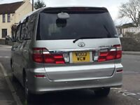 TOyota alphard factory built MPV known as a Welcab