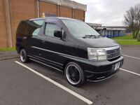 8 Seater Nissan Elgrand People Carrier