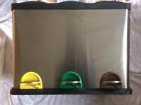 pedal recycling bin