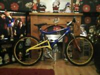 Haro double suspension bike