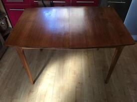Vintage Mcintosh teak extendable dining table
