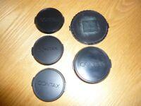 Contax lens caps