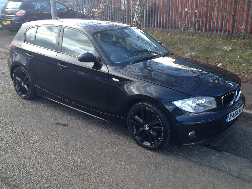 2004 bmw 1 series 1 6 black 116i in luton bedfordshire gumtree. Black Bedroom Furniture Sets. Home Design Ideas