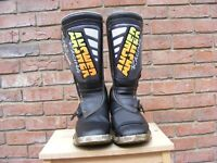 ANSWER EDGE Motocross Boots - Size 9 -Vintage