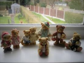 Collection of Cherished Teddies (8 Pieces)