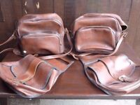 leather bag and saddlebags set Delivery available