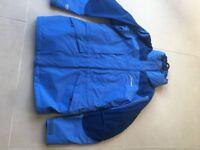 BERGHAUS LADIES Blue Waterproof Jacket Size 8