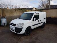 Fiat Doblo Van, 1.3l Diesel, White, long MOT