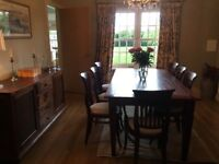 Luxury Dining Room Table, bought from Colonial in Edinburgh , Seats 8 people