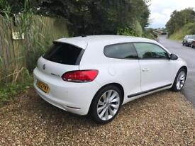 Vw scirocco tdi very clean in white