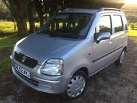 Vauxhall agila 1.2 silver low miles ideal runaround low tax/insurance £995