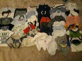 Large baby boy clothes bundle