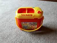 Leap frog Farm mash up toy