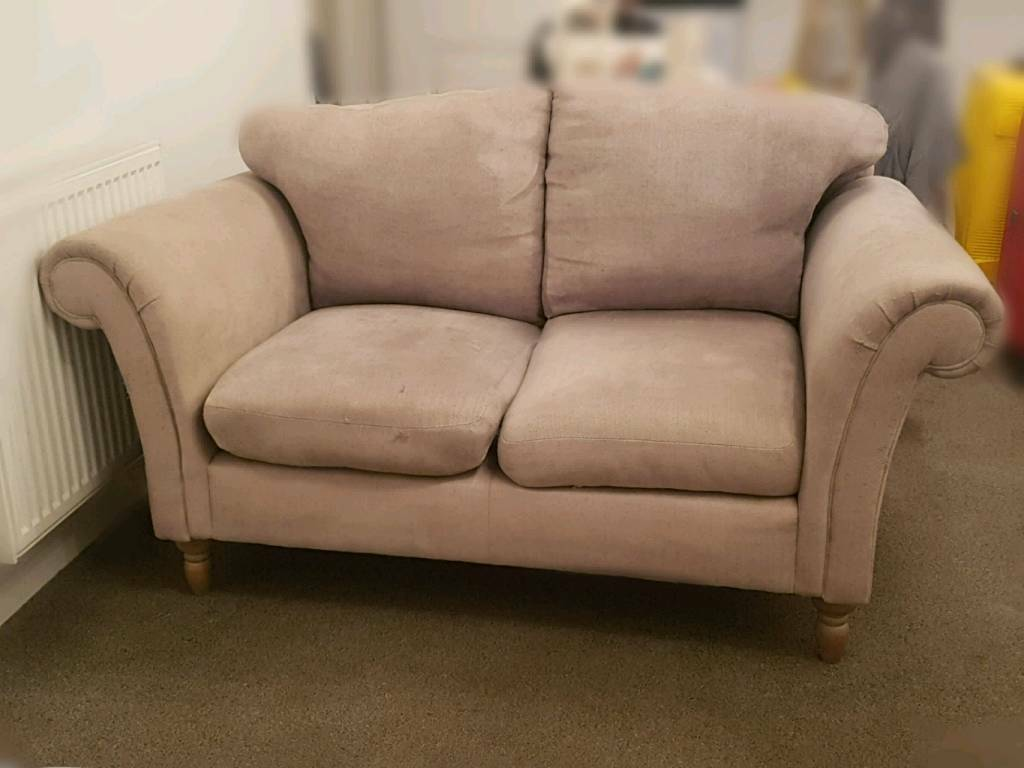 Next Dove Grey 3 2 Seater Antique Style Sofa