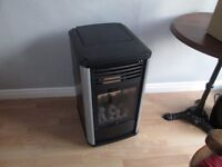 Manhattan Calor Gas heater fire with bottle