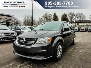 2017 Dodge Grand Caravan SXT, 2ND & 3RD ROW STOW N' GO, REMOTE S