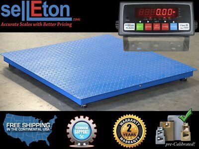 Ps-4x4-nn-10k 48 X 48 4 X 4 Floor Scale Pallet Warehouse Industria