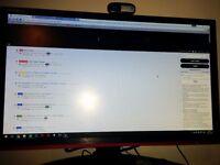 """AOC G2460PF 24"""" 144Hz FreeSync Monitor"""
