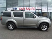 2007 57 NISSAN PATHFINDER 2.5 AVENTURA DCI 5D 169 BHP***GUARANTEED FINANCE***PART EX WELCOME