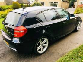 BMW 1 Series 2.0 120i M Sport 5dr 1YEAR MOT+6MNTH MOT+BMW HISTORY+HPI CLEAR+ PX WELCOME