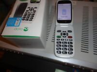 new doro 6520 mobile phone new with camera