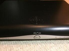 Sky+ HD Box With Extras.