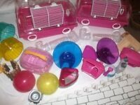 Hamster cages and lots of extras Bargain! Cheltenham GL52