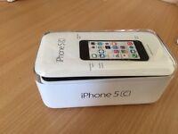 Apple iPhone 5c 8gb white good vondition
