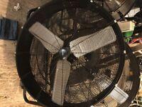 "Industrial High Velocity Fan. Sealey 36"""