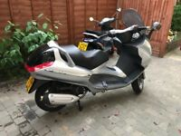 Piaggio X8 125 Scooter. regularly serviced and maintained. Mechanically sound.