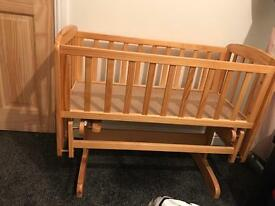 Rocking crib / small baby cot