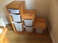 Ikea Trofast tiered storage unit