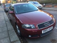 2004 Audi A3 2.0 TDI DSG 3door Sport Pack, bluetooth/aux, low miles, FSH, excellent condition in&out