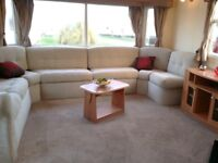 Sited 3 Bedroom Static Caravan For Sale In Towyn, North Wales.