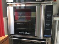 Turbofan oven blue seal