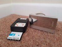 Sony DSC-TX5 Cyber-shot camera. Waterproof (3m). 10.2 mega pixels.