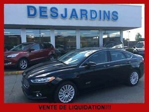 2014 Ford Fusion Hybrid Plug-In Titanium / NAVIGATION / CUIR/ TO