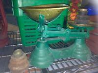 Old Scales and weights