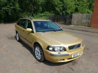 Volvo V40, 2002, 1.8 petrol, 116 000 miles, very good condition