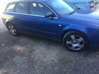 Audi A4 estate blue 2.4 auto