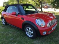 IMMACULATE 2009 MINI COOPER CONVERTIBLE