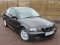 BMW E46 320d ES Compact, Manual, MOT: September 2017, 117k MIles, 2004/04