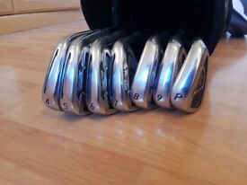 Taylor Made PSI irons 4-PW stiff shaft Golf Clubs