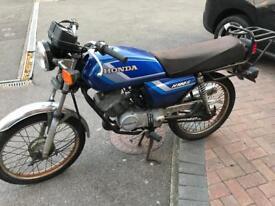 Honda h100 garage find