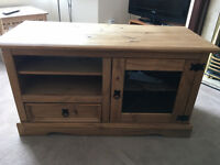Wooden Tv Cabinet 41Lx18Wx23H