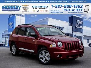 2010 Jeep Compass **Low kms!  Remote Start!**