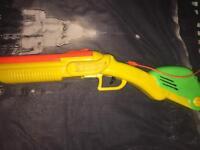 Nerf gun sawed off custom made from a long Barrel shotgun