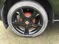 Seat Ibiza alloys swap